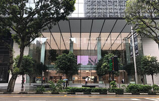 Apple lifts the covers on its Orchard Road store