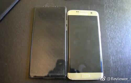 Purported Galaxy Note 8 dummy unit suggests embedded fingerprint sensor