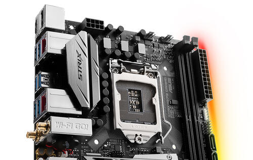 ASUS announces two new mini-ITX ROG Strix motherboards with Aura Sync RGB lighting
