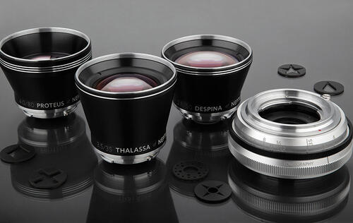 Three prime lenses, two aperture systems – meet the Neptune Convertible Art Lens System