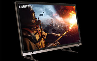 The Aftershock Next AIO Gaming PC boasts a fully upgradeable design and a 32-inch 144Hz display