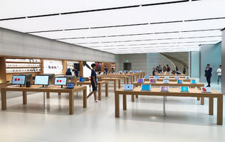 Take a 360 degree tour of Apple's Orchard Road store