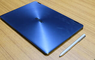 ASUS shaves off the millimeters on its new ZenBook Flip S convertible notebook