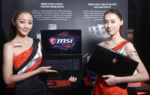MSI's new gaming notebooks are powerful and very colorful