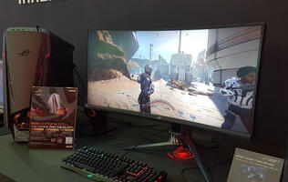 ASUS has an ultra-wide 200Hz quantum dot display in the ROG Swift PG35VQ