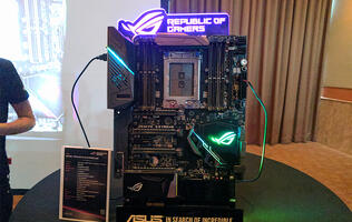 ASRock, ASUS, and Gigabyte already have AMD X399 Threadripper boards waiting in the wings