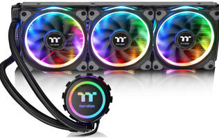 Thermaltake's Floe Riing RGB AIO coolers are tricked out with brilliant LEDs