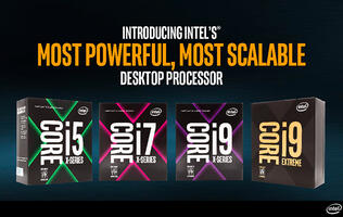 Intel's new Core X processor family includes a crazy 18-core Core i9 chip