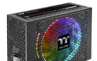 Thermaltake's Toughpower iRGB PLUS 1250W PSU comes with a brilliant 16.8 million color RGB fan