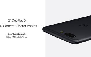 OnePlus shows off the dual-camera module of the OnePlus 5 on Twitter