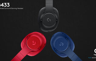 Logitech launches new G433 and G233 gaming headsets
