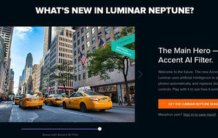 The latest version of Macphun's Luminar photo-editing tool retouches photos for you