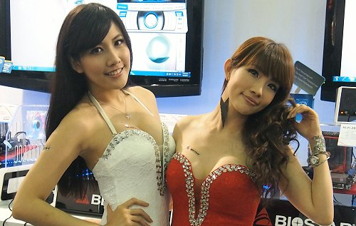12 years of Computex show girls!