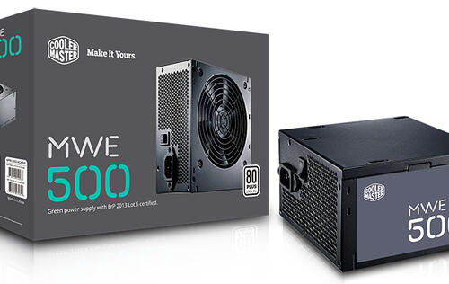 The Cooler Master MWE series PSUs start at just S$55 for a 400-watt model with 80 PLUS efficiency
