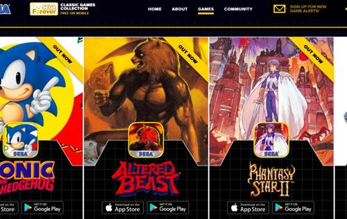 Sega Forever brings classic games to iOS and Android for free