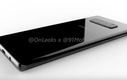 These detailed renders show how the Galaxy Note8 might look like
