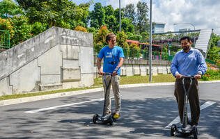 Floatility to kick off e-scooter sharing trials in Singapore with custom bikes