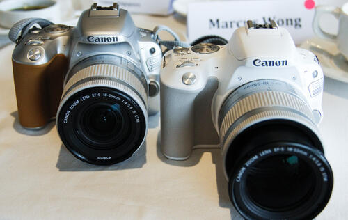 The latest from Canon in pictures: Introducing the EOS 6D Mark II and the EOS 200D