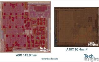 Apple's A10X is the first 10nm TSMC chip to appear in a consumer device