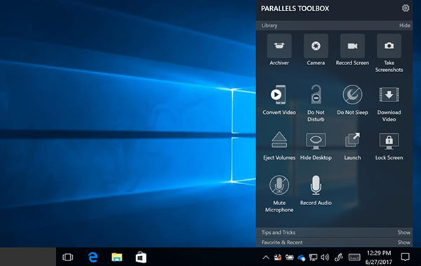 Simplify everyday tasks with Parallels Toolbox, now available for Windows