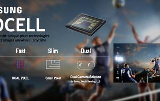 Samsung's ISOCELL Dual sensor is designed for zoom, depth sensing and low light