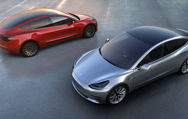 First Tesla Model 3 to roll off factory this week