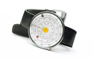 Gear this week: A circular slide rule watch, speakers made of solid wood, and more