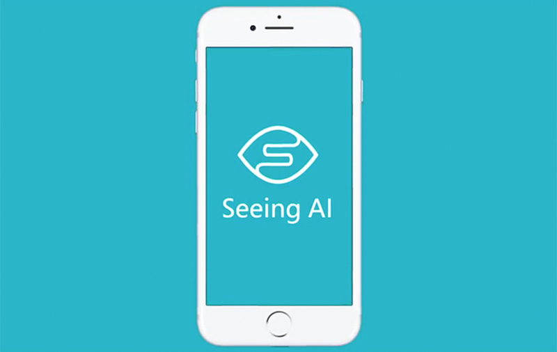 Seeing AI is an iOS app that tells the blind what's around them