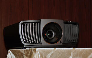 The BenQ X12000 4K DLP projector supports DCI-P3, has a long lifespan, but doesn't do HDR