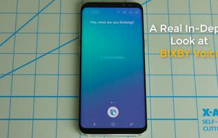 Various capabilities of Samsung's Bixby Voice detailed in video