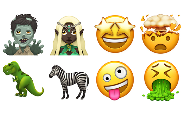 See some of the new emoji coming to iOS, macOS, and watchOS later this year
