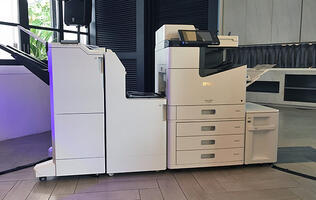 The Epson WorkForce Enterprise WF-C20590 is an inkjet printer that prints up to 100 pages per minute