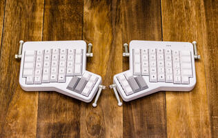 The ErgoDox EZ is one of the best ergonomic keyboards you've never heard of