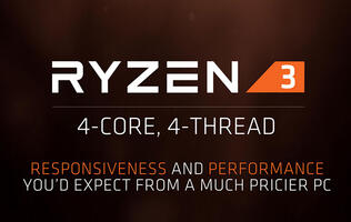 AMD pressures Intel's Core i3 chips with more affordable quad-core Ryzen 3 processors