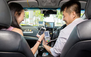 Pay for your taxi rides using QR codes and the DBS PayLah app