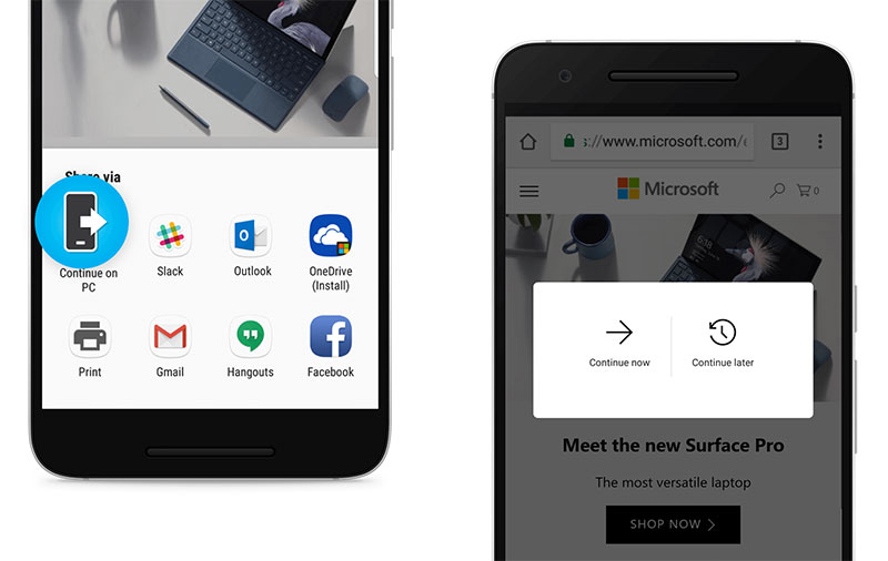 The latest Windows 10 preview lets you link your phone and PC