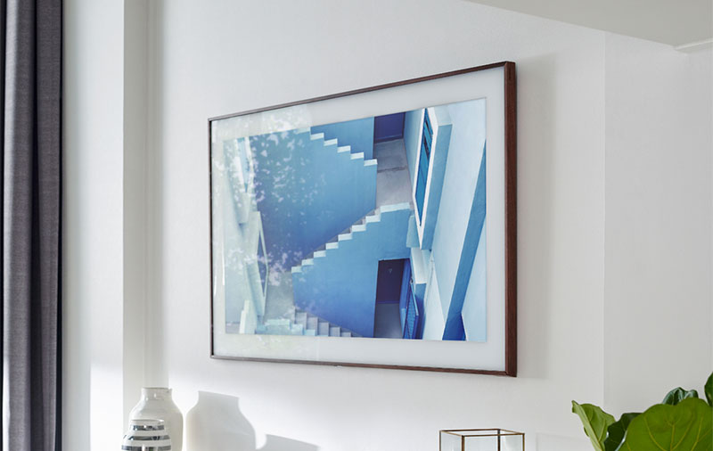 Samsung's The Frame is a 4K TV that goes out of its way to look like a photo frame
