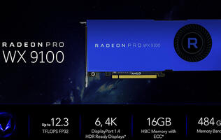 AMD looks to empower content creators with two new Radeon Pro cards based on its Vega architecture