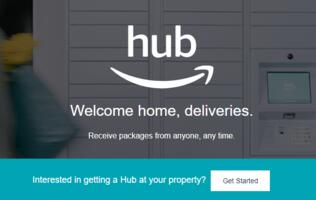 Amazon debuts Hub – delivery locker system for residential apartments