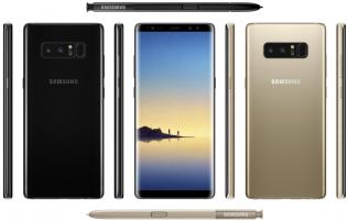 Here's an early look at the Samsung Galaxy Note 8 in 'Midnight Black' (Updated)