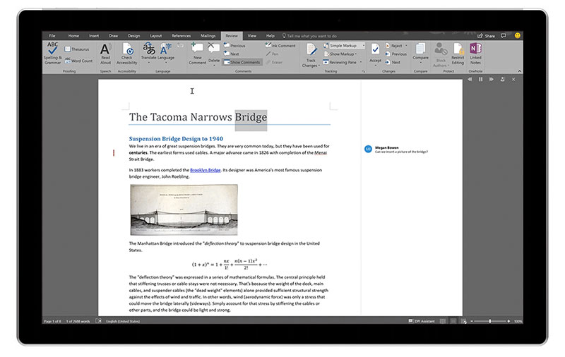 Microsoft Word can now read text aloud to help you catch typos
