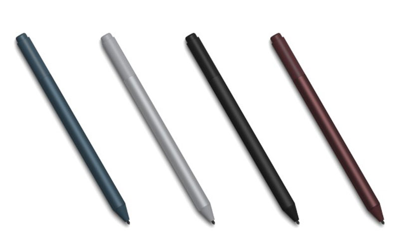 You can now pre-order the Surface Pen in burgundy, charcoal, and cobalt blue colors