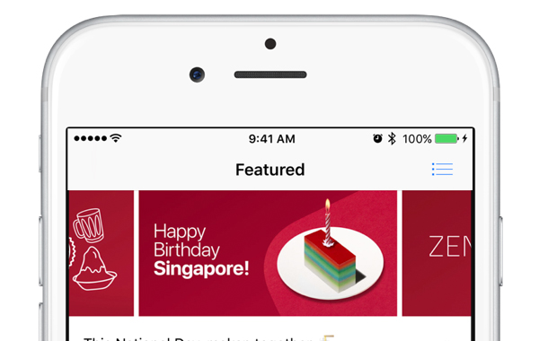 Apple celebrates National Day with special Singapore content on Apple Music and iTunes