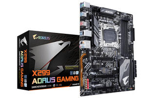 The Gigabyte X299 Aorus Gaming is the first motherboard designed exclusively for Intel Kaby Lake-X