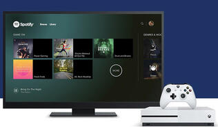 Spotify comes to Xbox One