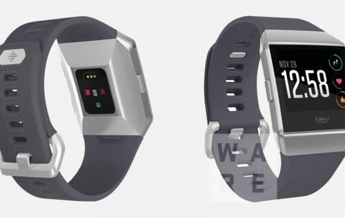 Leaked photos show final design of Fitbit's upcoming smartwatch with new sensors
