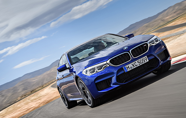 BMW shows off new M5 super sedan at Gamescom