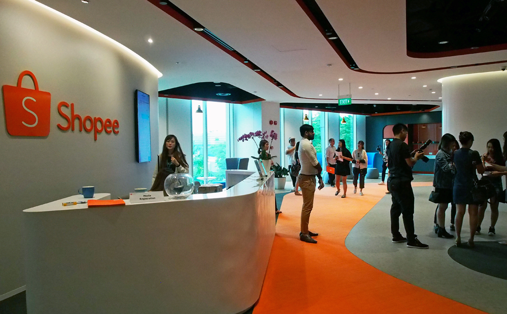 Shopee gets a brand new office just before their app-wide sale