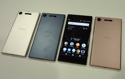 Sony expands their flagship phone range with Xperia XZ1 and XZ1 Compact