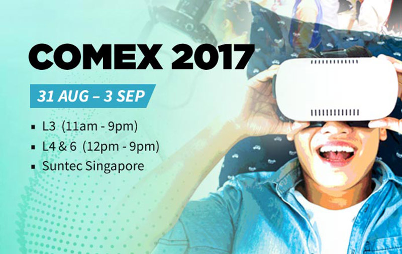 Comex 2017 - Opening day live updates